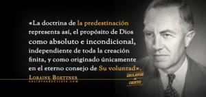 Definimos la predestinación como la doctrina teológica, asociada ...
