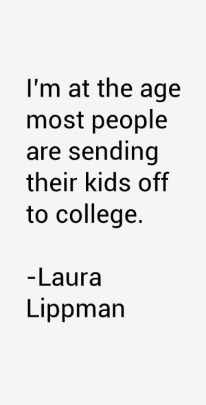 Laura Lippman Quotes & Sayings