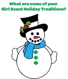 What are your favorite Girl Scout holiday traditions?