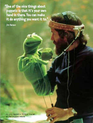 Jim Henson On Puppets & Creativity