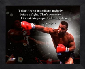 Mike Tyson Know How Hard...