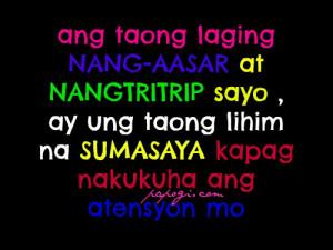 Masakit Tagalog Sad Love Quotes