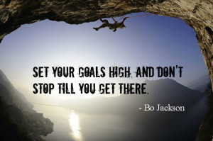 Lds Quotes On Missionary Work Bo jackson quote about goals