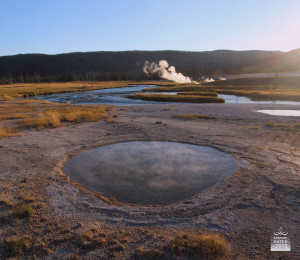 The Yellowstone landscape embodies a harmony of contrasts.