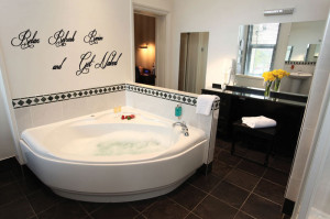 ... Revive & Get Naked Bathroom Wall Quote Art Stickers Wall Decals
