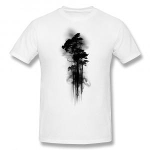 Unique-Design-Gildan-T-Shirt-Mens-Enchanted-Forest-Print-Cool-Quote ...
