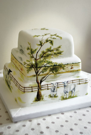 MurrayMe-Farm-Sheep-Painted-Wedding-Cake