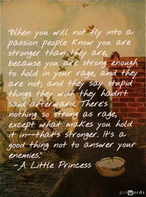 Little Princess Quote: A Little Princesses Quotes, Reading, Strength ...