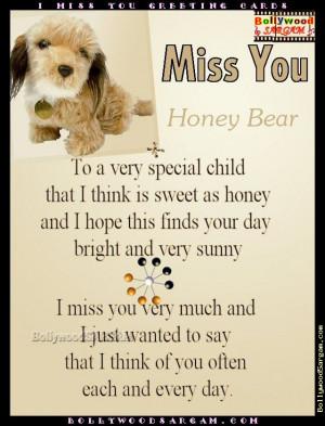 Honey I Miss You Quotes. QuotesGram