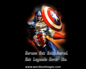 Famous superhero quotes