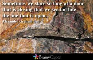 Open Door quote #1