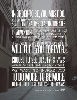 Bonus—Six Amazing Quotes on Adventure: