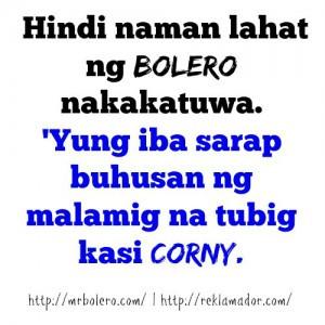 Best Bolero Quotes Tagalog