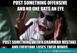 Grammar Nazis Funsubstance
