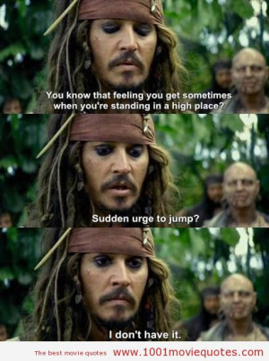 Pirates of the Caribbean On Stranger Tides (2011) - movie quote