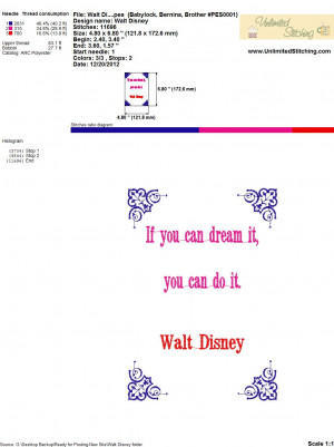 Walt Disney Quotes And Sayings Business Impossible Funny
