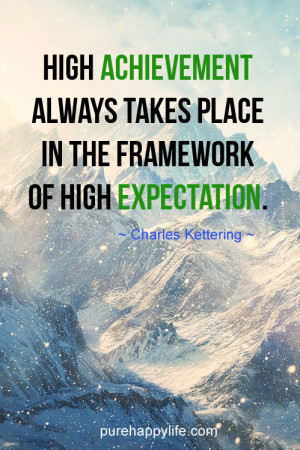 Expectation Quotes Sayings...