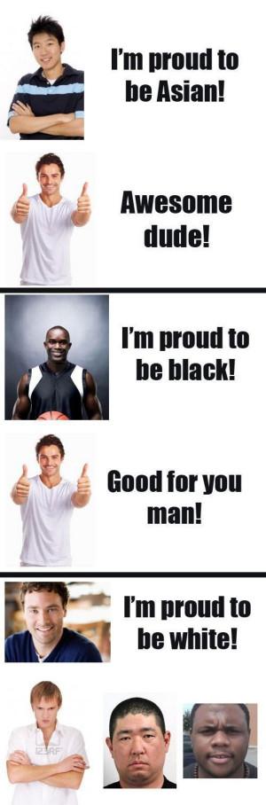 Racist White Guy