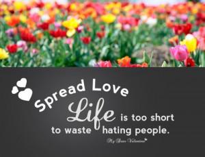 quotes] Spread Love & Respect ^^