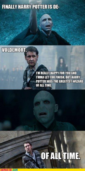 Harry Potter #Neville Longbottom #Lord Voldemort #Funny