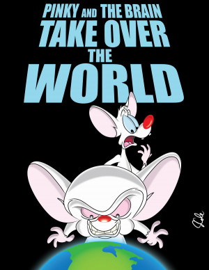 Pinky and The Brain by jrwcole