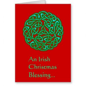 an_irish_christmas_blessing_christmas_card ...