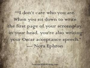 Nora Ephron quote!