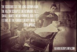 John Updike quote.