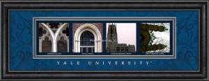 Yale University Campus Letter Art