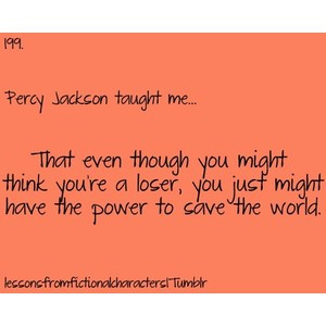 Percy Jackson quote clipped by Ƭwiℓα Şiℓvɛɼ ♫....you can ...
