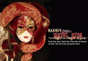 Carnival Happy Mardi Gras eCard Image and Wishes of Carnival Sunday ...