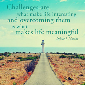 Challenges-are-what-make life meaningful
