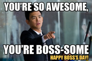 Happy Boss's Day / Steven / Go On / #GoOn / John Cho / Matthew Perry