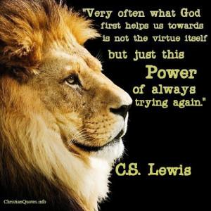 CS Lewis Christian Quotes