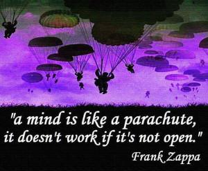 Keep an open mind.