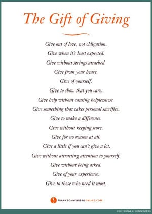 Quotes About Gift Giving