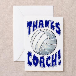Thank You Quotes For Volleyball Coaches