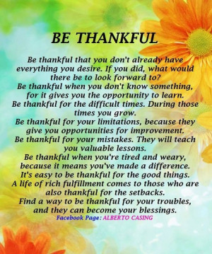 being thankful quotes and sayings | Being Thankful :-): Blessed, Life ...