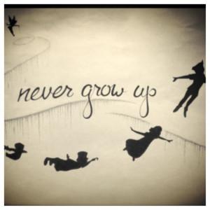 Peter Pan Quotes Never Grow Up