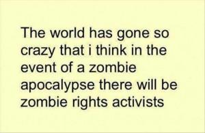 funny zombie quotes