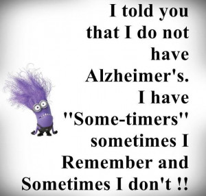 "Purple minion ""Some-timers"" quote. #minions #quotes"