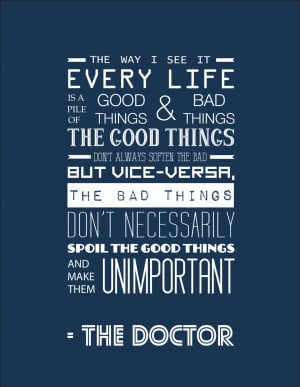 11th Dr Who Quotes Doctor who inspirational quote