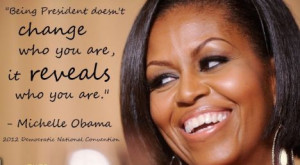 First Lady Michelle Obama, quote
