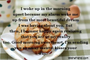 ... you are in my life and I smile. Good morning my Darling. XOXOXO