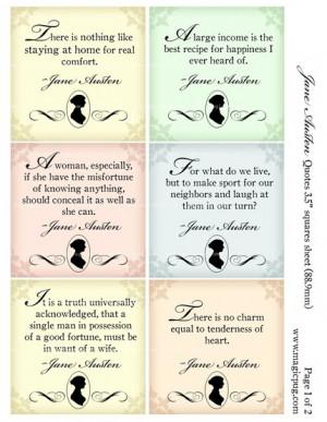 Jane Austen on Etsy