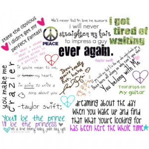 Taylor Swift's quotes - Polyvore