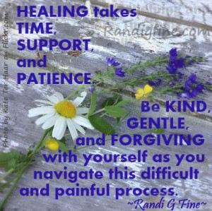 Inspirational Healing Quote