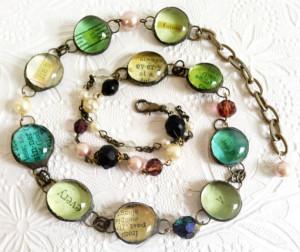 Every Saint Has A Past Quote Bracelet, Oscar Wilde Quote Bracelet ...