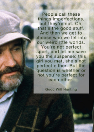 quote from good will hunting about love