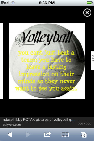 Volleyball Sports Sayings